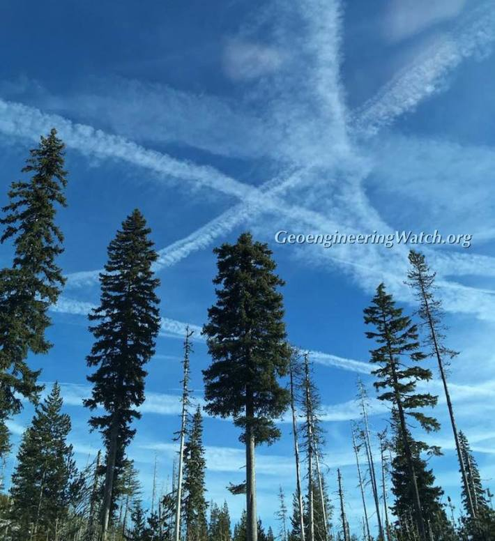 Chemtrails 140 Sisters Oregon