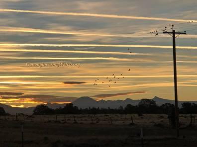 Chemtrails 62 Mt Lassen Shasta County Ca 10-26-18
