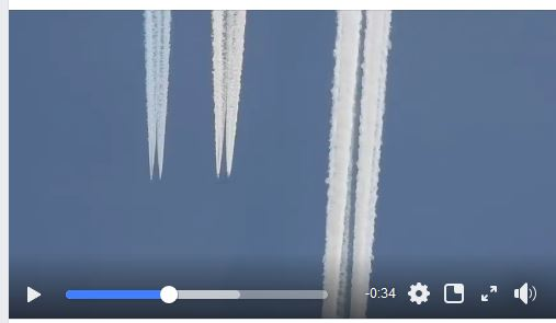 Chemtrails World 9 This is Military the FAA does not file flight plans like this
